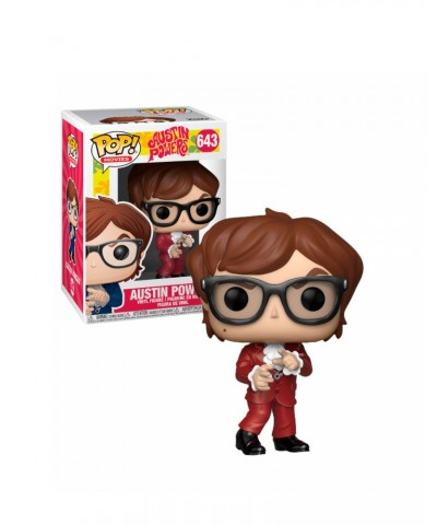Austin Powers (Red Suit) Austin Powers Muñeco Funko Pop! Vinyl [643]