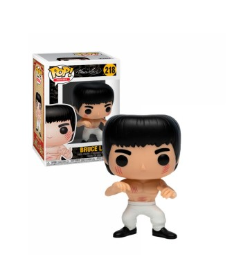 Bruce Lee (White Pants)  Enter the Dragon Muñeco Funko Pop!