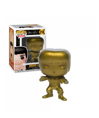 Bruce Lee (Gold) nter the Dragon Muñeco Funko Pop! Vinyl [218]