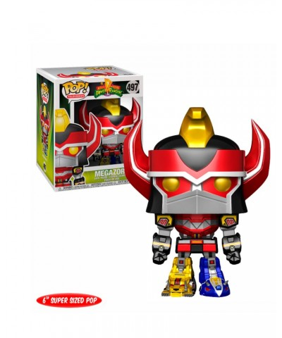 "Megazord (Metallic) 6"" Power Rangers Muñeco Funko Pop! Vinyl [497]"