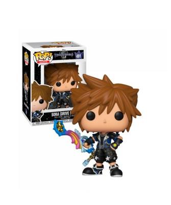 Sora (Drive Form) Kingdom Hearts 3 Disney Muñeco Funko Pop! Vinyl [491]