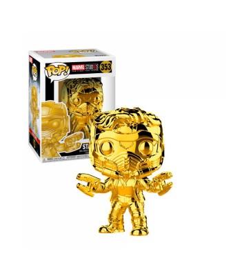 Special Edition Star-Lord Cromado Guardianes de la Galaxia Marvel Studios 10 Muñeco Funko Pop! Bobble Vinyl [353]
