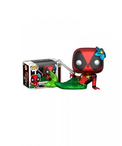 Deadpool Sirenita Metálico Marvel Muñeco Funko Pop! Bobble Vinyl []