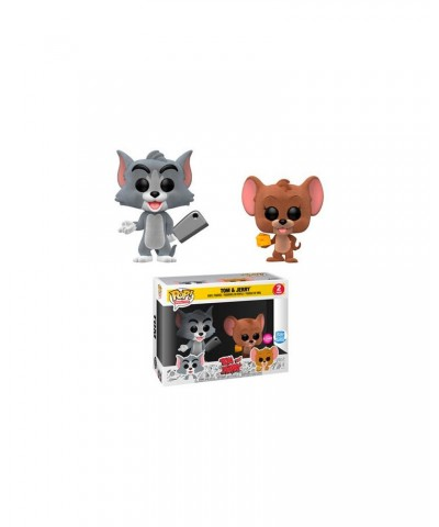Tom y Jerry Flocked 2Pack Hanna Barbera Muñeco Funko Pop! Vinyl