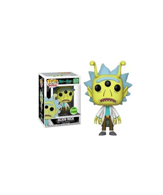 Spring Convention 2018 Alien Rick Rick y Morty Muñeco Funko Pop! Vinyl [337]