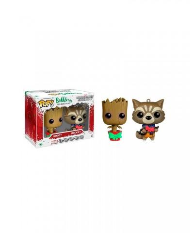 Rocket y Groot Guardianes de la Galaxia 2Pack Marvel Muñeco Mini Funko Pop! Bobble Vinyl