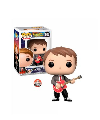 Marty McFly with Guitar Back to the Future Muñeco Funko Pop! Vinyl [602]
