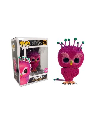 Fwooper Flocked Animales Fantásticos y Donde Encontrarlos Muñeco Funko Pop! Vinyl [26]