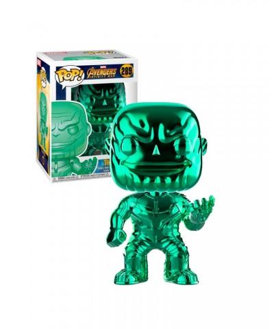 Thanos Cromado Verde Avengers Infinity War Marvel Muñeco Funko Pop! Bobble Vinyl [289]