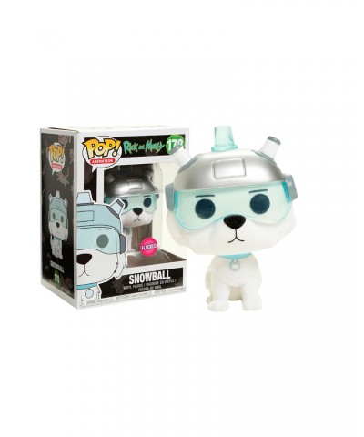 EXCLUSIVE Snowball (Flocked) Rick y Morty Muñeco Funko Pop! Vinyl [178]