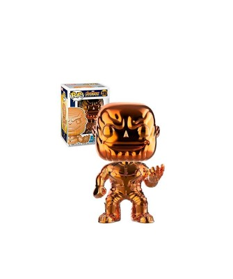 Thanos Cromado Naranja Avengers Infinity War Muñeco Funko Pop! Bobble Vinyl [289]