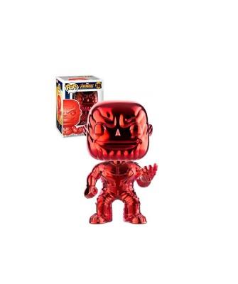 Special Edition Thanos Cromado Rojo Avengers Infinity War Muñeco Funko Pop! Bobble Vinyl [289]