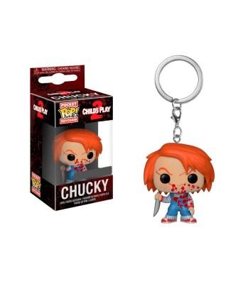 Llavero Chucky Bloody Child's Play 2 Funko Pop! Pocket
