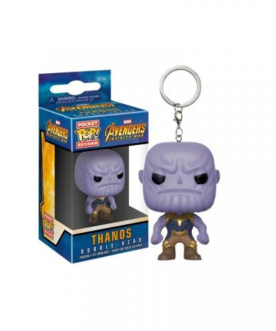Llavero Thanos Avengers Infinity War Marvel Funko Pop! Pocket Bobble