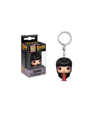 Llavero Elvira Mistress of the Dark Funko Pop! Pocket