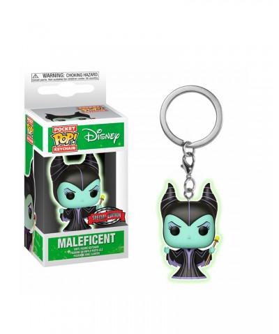 Llavero Special Edition Maléfica (Brilla en la oscuridad) Disney Funko Pop! Pocket
