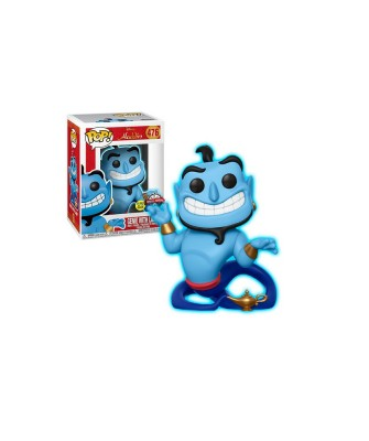 Genie with Lamp GITD Aladdin Disney Funko Pop! Vinyl