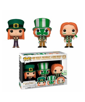 Spring Convention 2019 Fred, George y Ginny Weasley Harry Potter 3Pack Muñeco Funko Pop! Vinyl