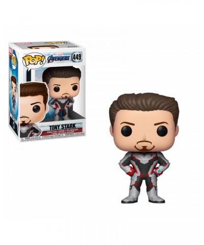 Tony Stark Avengers Endgame Marvel Muñeco Funko Pop! Vinyl [449]