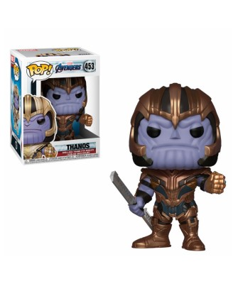 Thanos Avengers Endgame Marvel Muñeco Funko Pop! Bobble Vinyl [453]