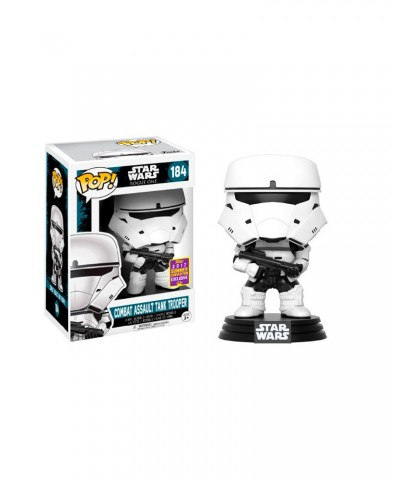EXCLUSIVE Combat Assault Tank Trooper SDCC 2017 Star Wars Funko Pop! Bobble Vinyl
