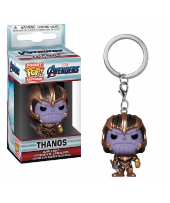 Llavero Thanos Avengers Endgame Marvel Funko Pop! Pocket Bobble