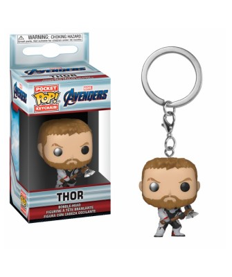 Llavero Thor Avengers Endgame Marvel Funko Pop! Pocket Bobble