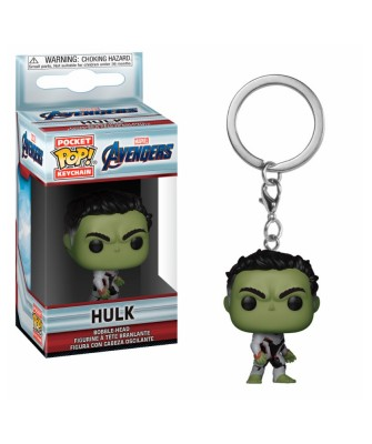 Llavero Hulk Avengers Endgame Marvel Funko Pop! Pocket Bobble