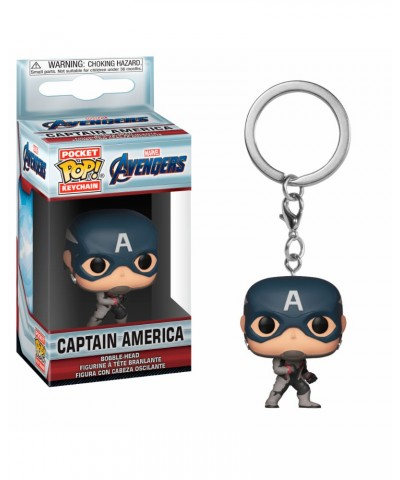 Llavero Capitán América Avengers Endgame Marvel Funko Pop! Pocket Bobble