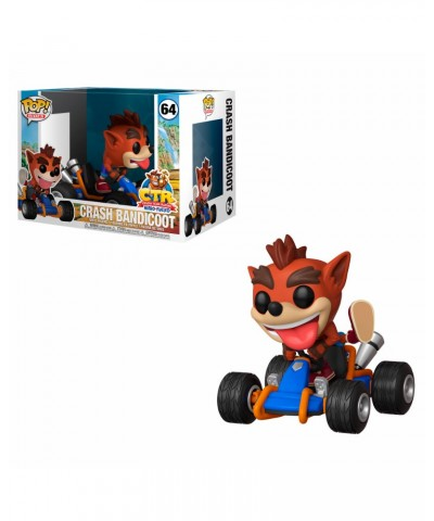 Crash Bandicoot Crash Team Racing Muñeco Funko Pop Rides! Vinyl [64]