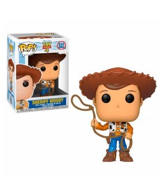 Sheriff Woody Toy Story 4 Disney Muñeco Funko Pop! Vinyl [522]