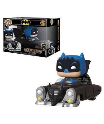 1950 Batmobile Batman 80th DC Muñeco Funko Pop! Rides Vinyl