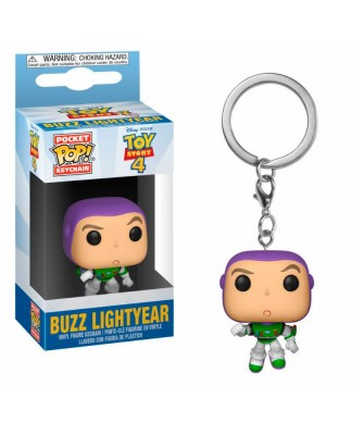 Llavero Buzz Lightyear Toy Story 4 Disney Muñeco Funko Pop! Pocket