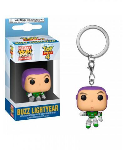 Llavero Buzz Lightyear Toy Story 4 Disney Muñeco Funko Pop! Pocket