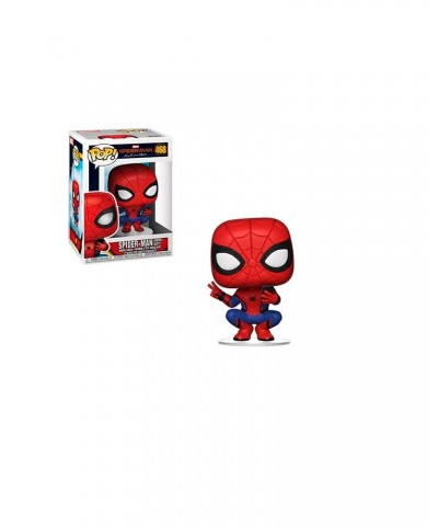 Spider-Man Traje Héroe Spider-Man Lejos de Casa Marvel Muñeco Funko Pop! Bobble Vinyl