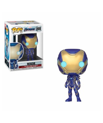 Rescue Avengers Endgame Marvel Muñeco Funko Pop Bobble Vinyl [480]