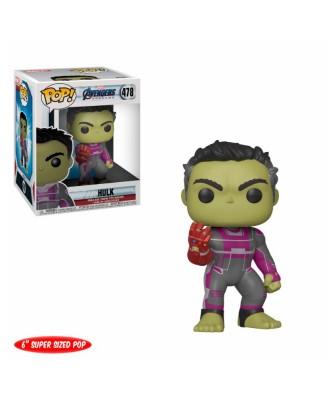 """Hulk 6"""" Avengers Endgame Marvel Muñeco Funko Pop! Bobble Vinyl [478]"""