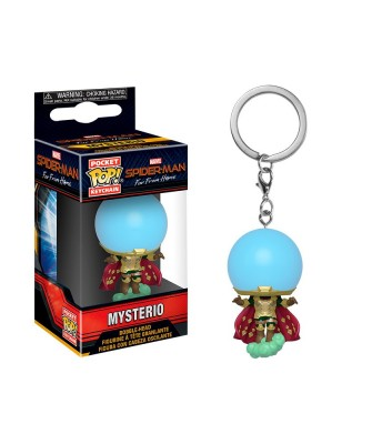 Llavero Mysterio Spider-Man Lejos de casa  Marvel Funko Pop! Pocket Bobble