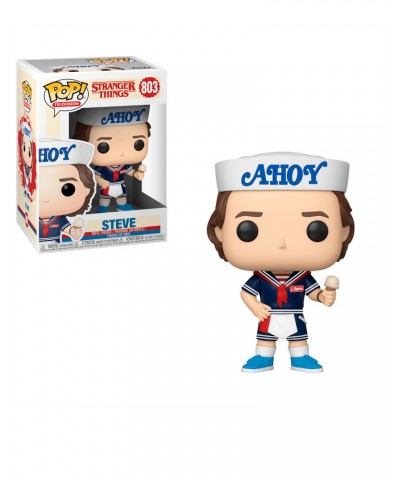 Steve with Hat and Ice Cream Stranger Things Muñeco Funko Pop! Vinyl [803]