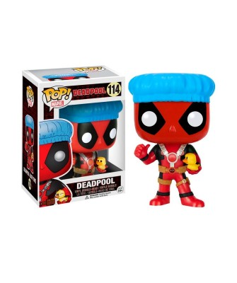 Deadpool Baño con Patito Marvel Muñeco Funko Pop! Bobble Vinyl [114]