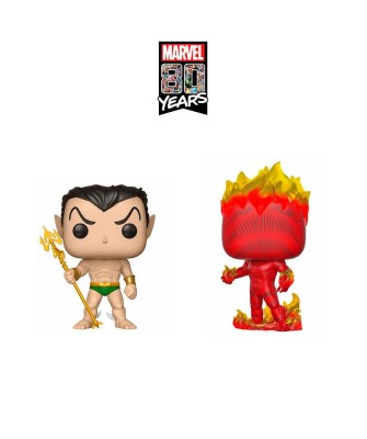 Pack Marvel 80th Muñeco Funko Pop! Bobble Vinyl