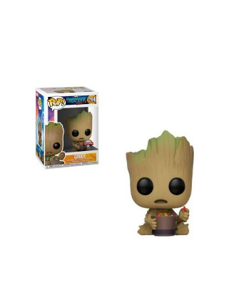 Special Edition Baby Groot Candy Bowl Guardianes de la Galaxia Muñeco Funko Pop! Bobble Vinyl [264]