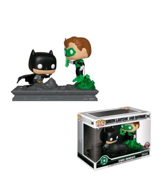 Special Edition Linterna Verde y Batman Comic Moments DC Muñeco Funko Pop! Vinyl [269]