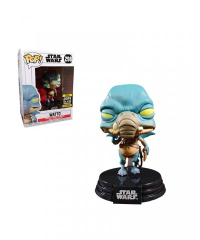 2019 Galactic Convention Exclusive Watto Star Wars Muñeco Funko Pop! Bobble Vinyl [298]