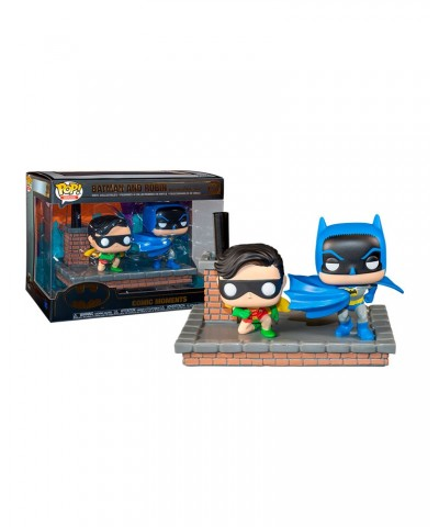 Batman and Robin 1964 Movie Moment Batman 80th DC Muñeco Funko Pop! Vinyl