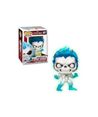 Spirit Spider (Glows in the Dark) Spider-Man Marvel Funko Pop! Vinyl [467]