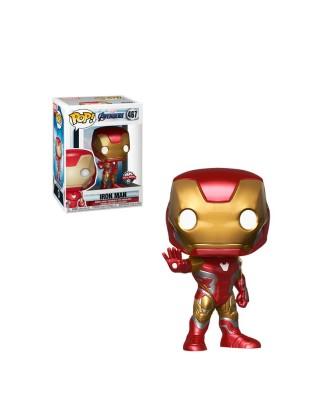 Special Edition Iron Man  Avengers Endgame Marvel Muñeco Funko Pop! Bobble Vinyl [467]
