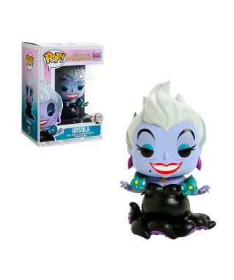 Ursula with Eels Little Mermaid Disney Muñeco Funko Pop! Vinyl