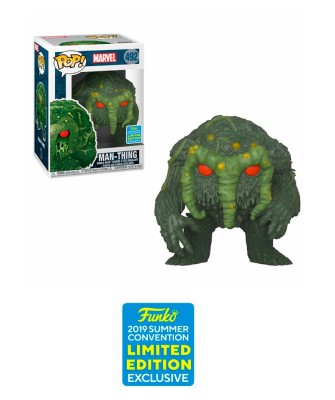 Man-Thing Marvel Muñeco Funko Pop! Vinyl [492]