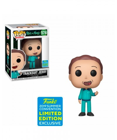 Summer Convention 2019 Tracksuit Jerry Rick y Morty Muñeco Funko Pop! Vinyl [574]